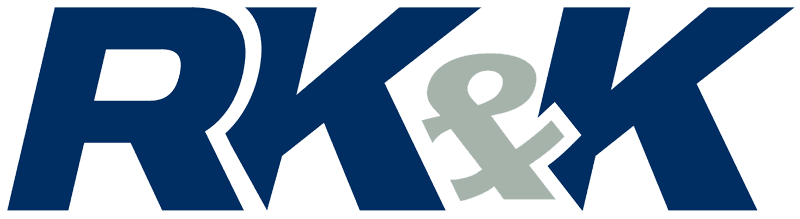 RK&K Logo blue with Grey